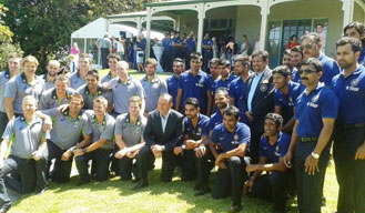 Australian PM invites Team India for an afternoon tea