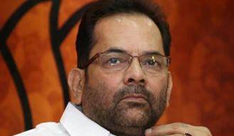 BJP to contest 2017 UP assembly elections on its own: Mukhtar Abbas Naqvi