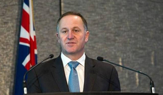 PM of New Zealand 'John Key' announces surprise resignation