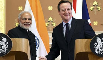 India and UK sign deals worth 9 billion pounds