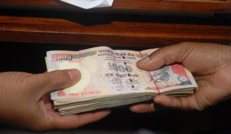 Additional District Collector arrested while taking bribe