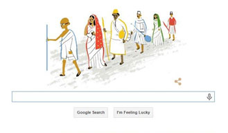Google celebrates India's 69th Independence Day with Dandi March doodle