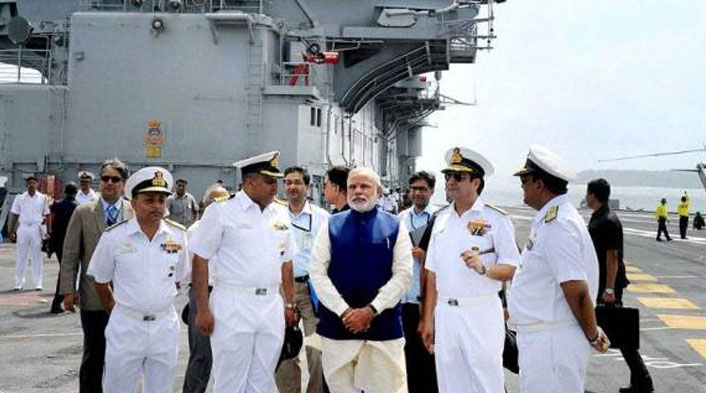 PM Modi to chair commanders' conference on board INS Vikramaditya in Kochi today