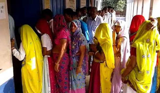 Over 70% voters show up in Rajasthan civic polls till 4 pm