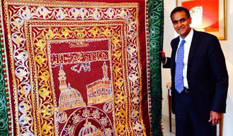 With Love from Obama, a 'Chadar' for Ajmer Sharif