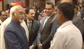 2 agreements signed by Hamid Ansari and Laotian leadership