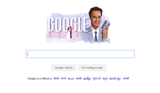 Google Doodle Pays tribute to Singer Mukesh on his 93rd Birthday