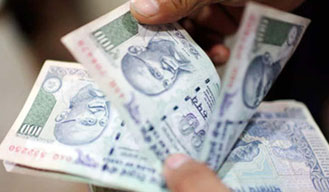 Rupee declines by 17 paise
