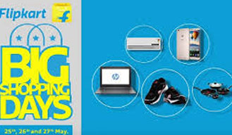 Hurry up! Flipkart's Big Shopping Days Sale starts from 25th May