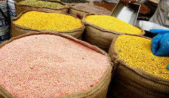 Government raids 13 states; nearly 75,000 tonnes of pulses seized