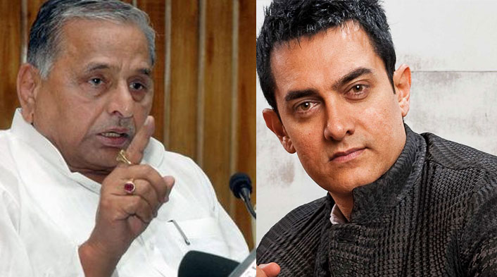 Mulayam defends Aamir Khan, says 'Maybe he felt hurt over something'