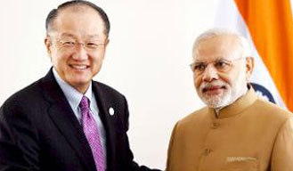 World Bank chief praises PM Modi, says post reforms, World looks differently at India