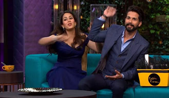 See what happened when Shahid say, still discovering Mira's boyfriends
