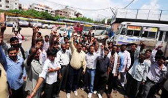 Rajasthan Roadways union to go one one-day strike from today midnight