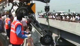 One killed in road accident on Yamuna Expressway