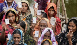 Voting begins for the 4th phase of UP Panchayat Polls