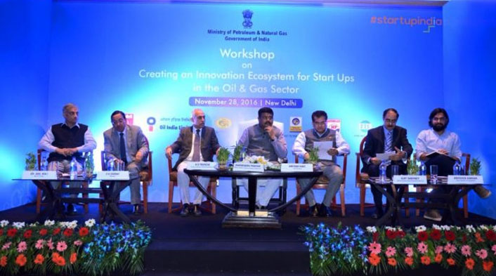 Petroleum minister Dharmendra Pradhan inaugurates workshop on Startup India
