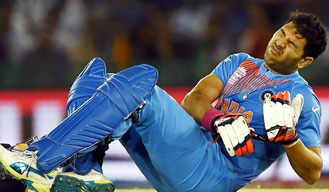 ICC World T20: Pandey replaces injured Yuvraj in India squad