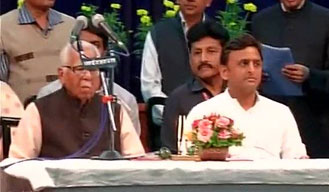 Cabinet reshuffle: 11 new ministers take oath, join Akhilesh Yadav government