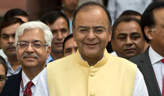 Arun Jaitley takes charge of I&B ministry