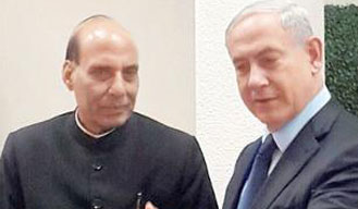 Home Minister Rajnath Singh, Netanyahu review cooperation in combating terror
