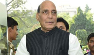 Union Home Minister Rajnath Singh arrives in Israel